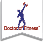 Doctor of Fitness logo